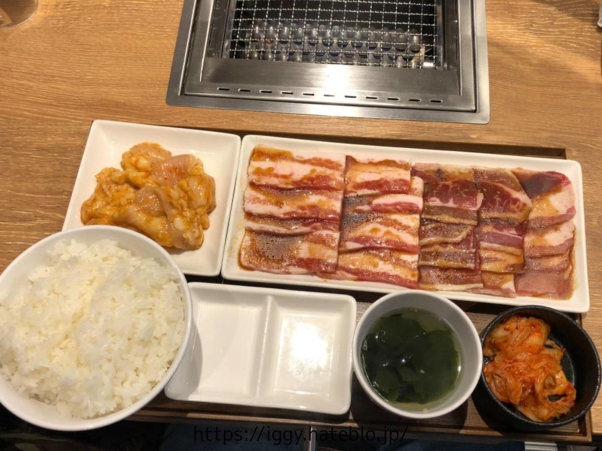 焼肉ライク 福岡天神西通り店 1人焼肉 メニュー メガ盛りセット 感想 レビュー