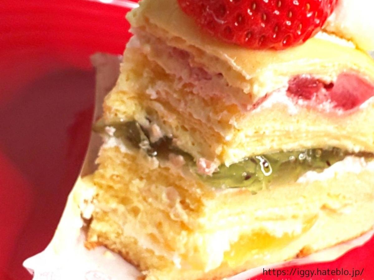 シャトレーゼ おすすめケーキ クレープ・オ・フリュイ① LIFE