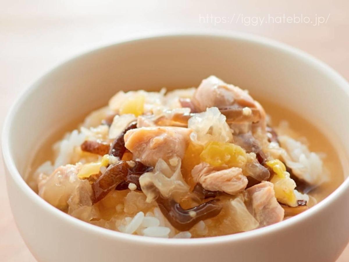 無印良品 ごはんにかける「参鶏湯」 原材料 栄養成分 口コミ レビュー