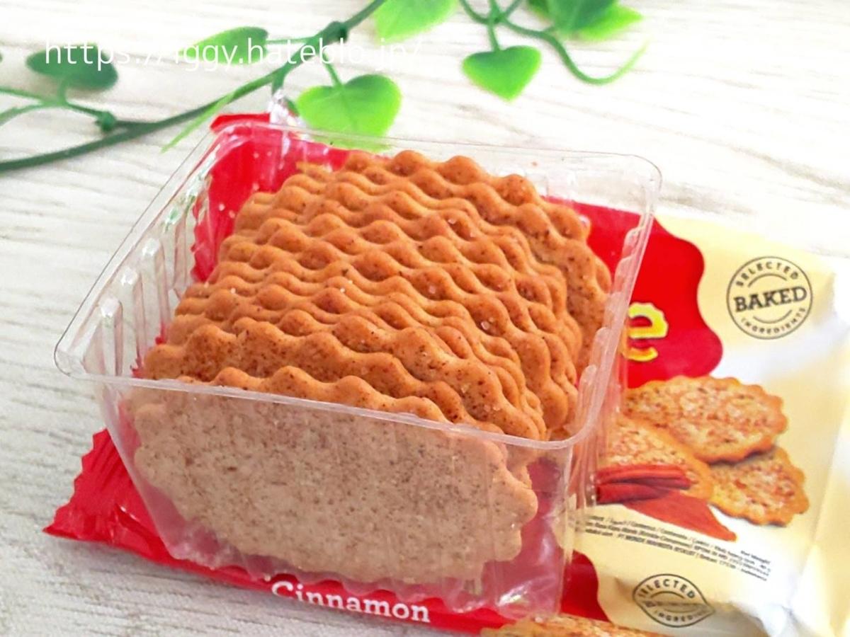 業務スーパー おすすめお菓子 オリエントビスケット(シナモン味)感想 LIFE