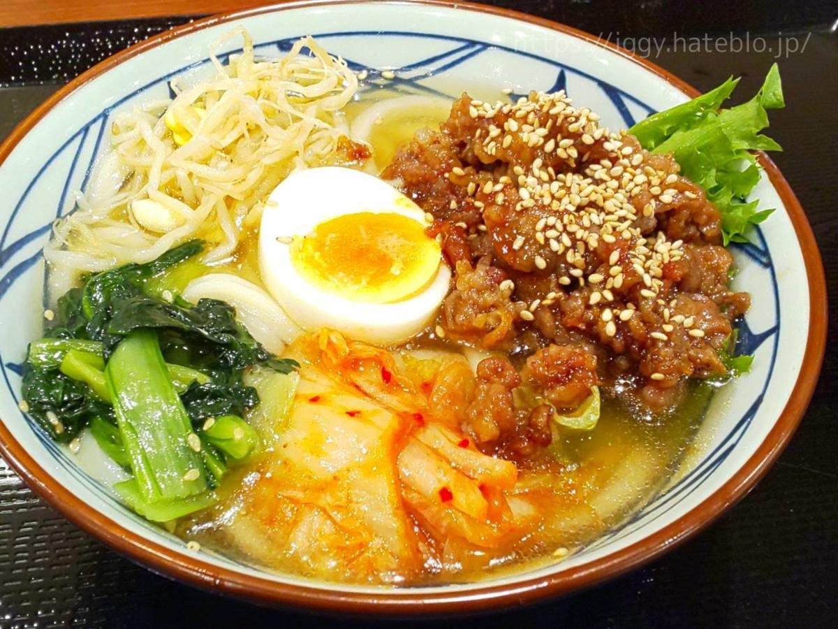 丸亀製麺 期間限定メニュー「牛焼肉冷麺」並 LIFE
