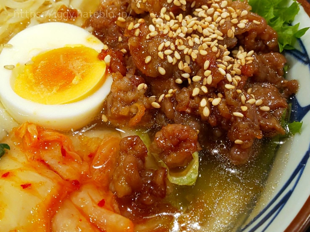 丸亀製麺 期間限定メニュー「牛焼肉冷麺」テールスープ LIFE