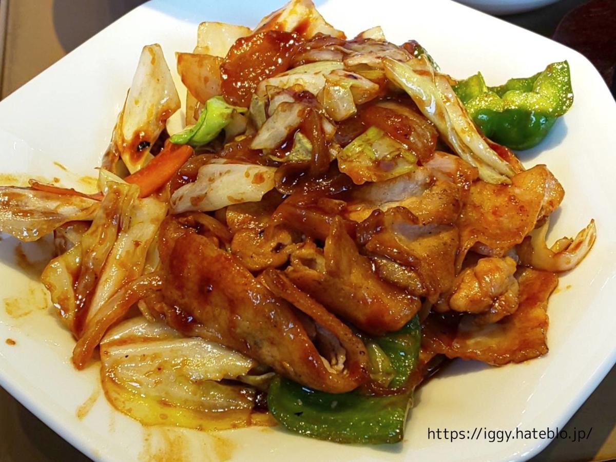 やよい軒 期間限定メニュー「回鍋肉と麻婆豆腐の定食」回鍋肉 LIFE