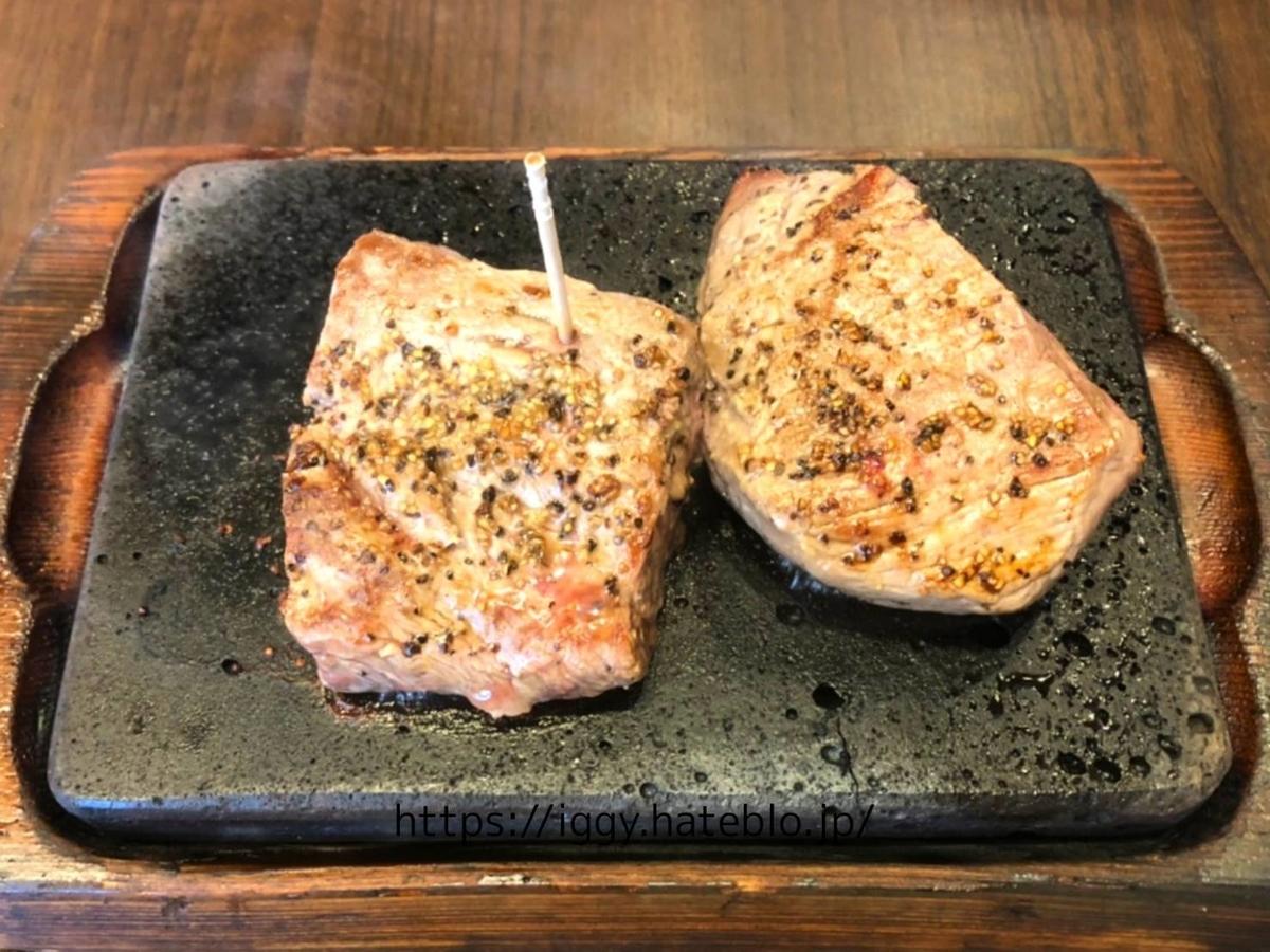 「やっぱりステーキ」ランチ 定番赤身食べ比べ「ミスジ100g&赤身100gセット」 LIFE