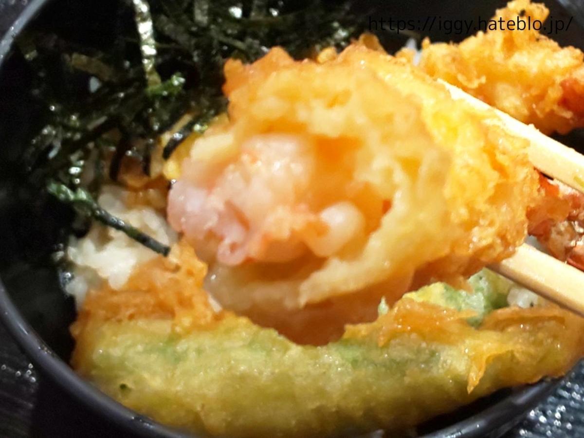 博多麺道場 ぶっかけ屋 ミニ天丼 LIFE