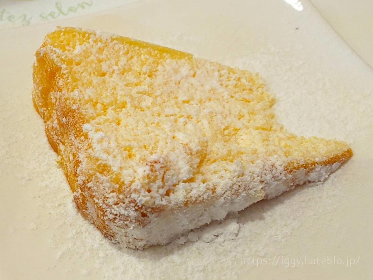 「五穀」メンオムランチ デザート チーズケーキ LIFE