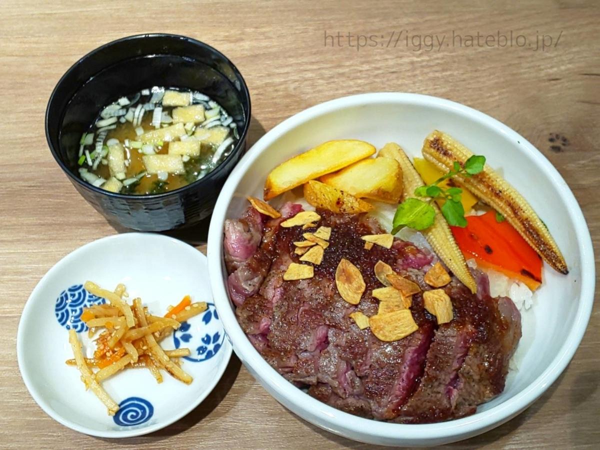 『大木屋』福岡パルコ店 肉の日「ステーキ丼」500円 LIFE