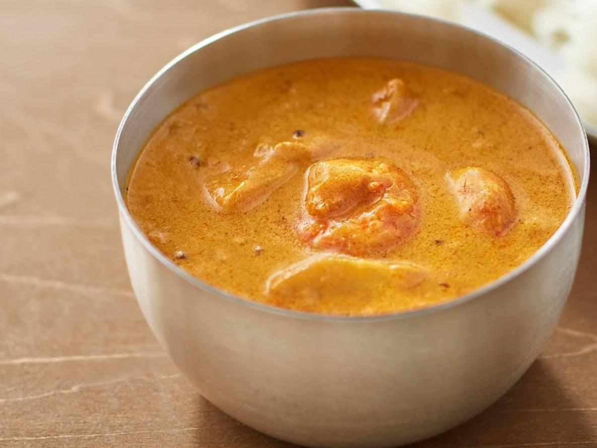無印良品 素材を生かしたカレー プラウンマサラ(海老のクリーミーカレー)原材料 カロリー・栄養成分