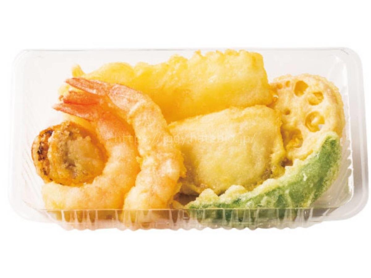 ほっともっと 新発売「海鮮天ぷら盛り合わせ」