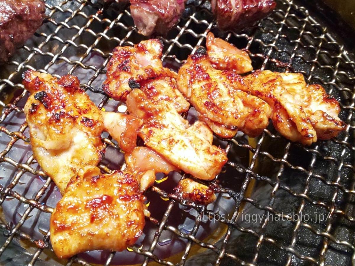 ワンカルビ 2020年9月・10月新メニュー「鶏ももの八丁味噌だれ焼き」感想 LIFE