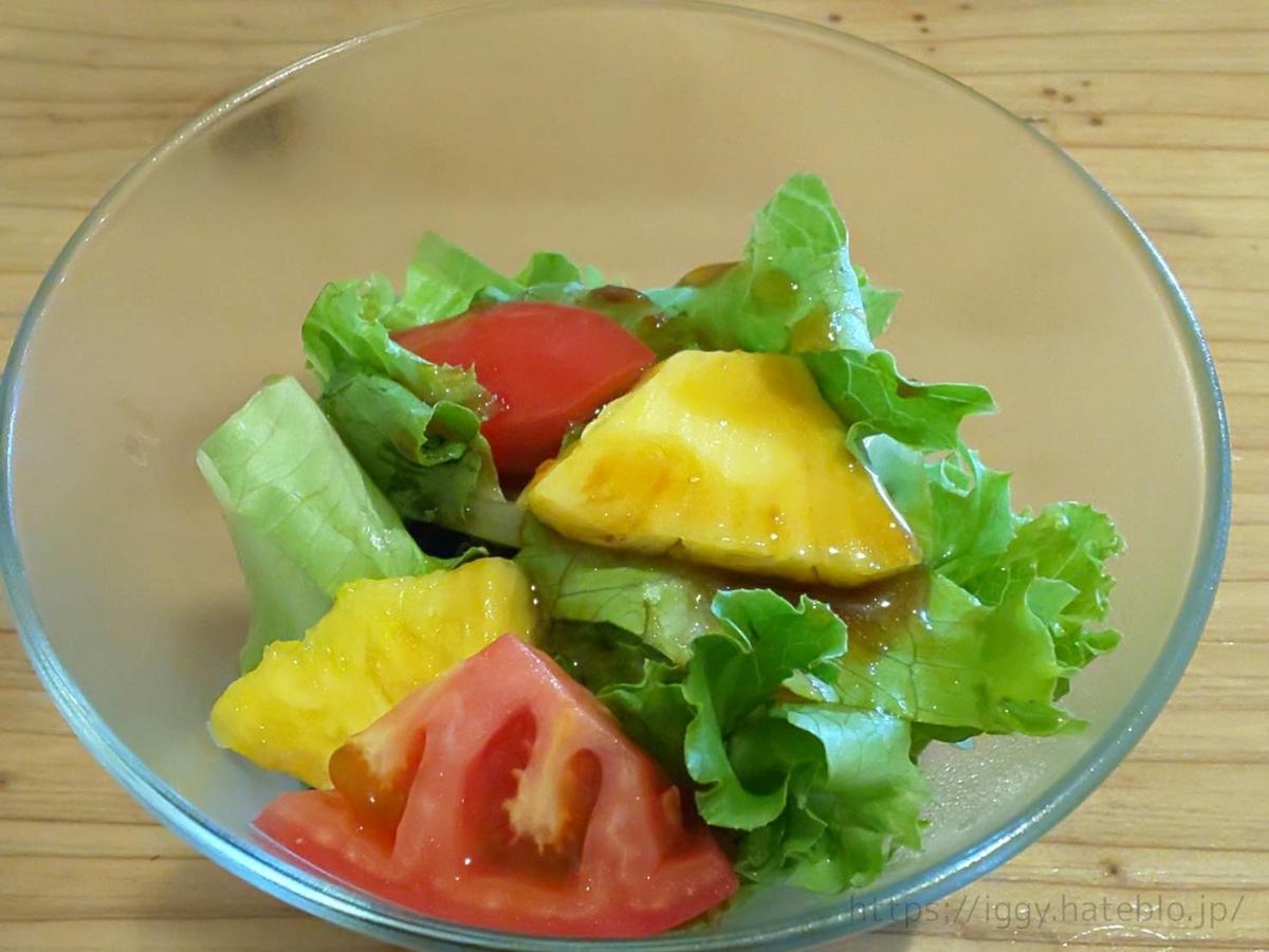 豚ステーキ&牛タンステーキ「十一 といち」サラダ LIFE