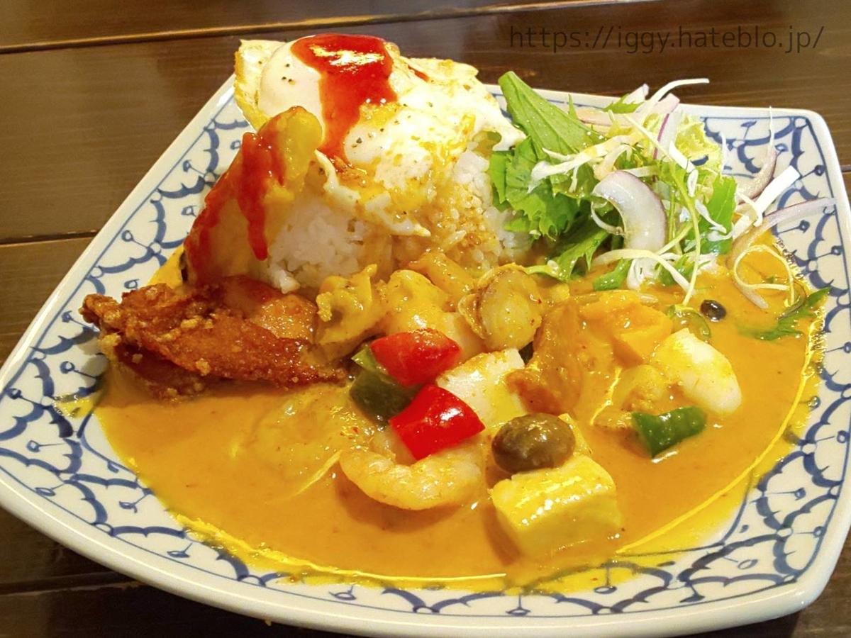 イムキッチン 魚介のレッドカレー 口コミ LIFE
