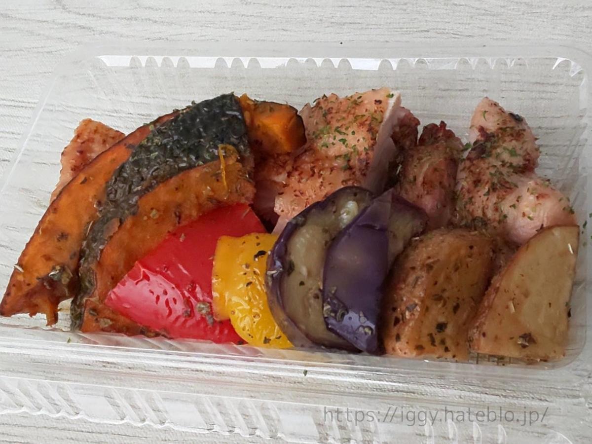 岩瀬惣菜店 テイクアウト専門店 夏野菜マリネと塩チキンのグリル 口コミ LIFE