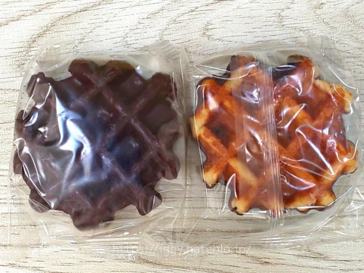 業務スーパー おすすめ冷凍 ベルギーワッフル(チョコレート) 感想 口コミ レビュー