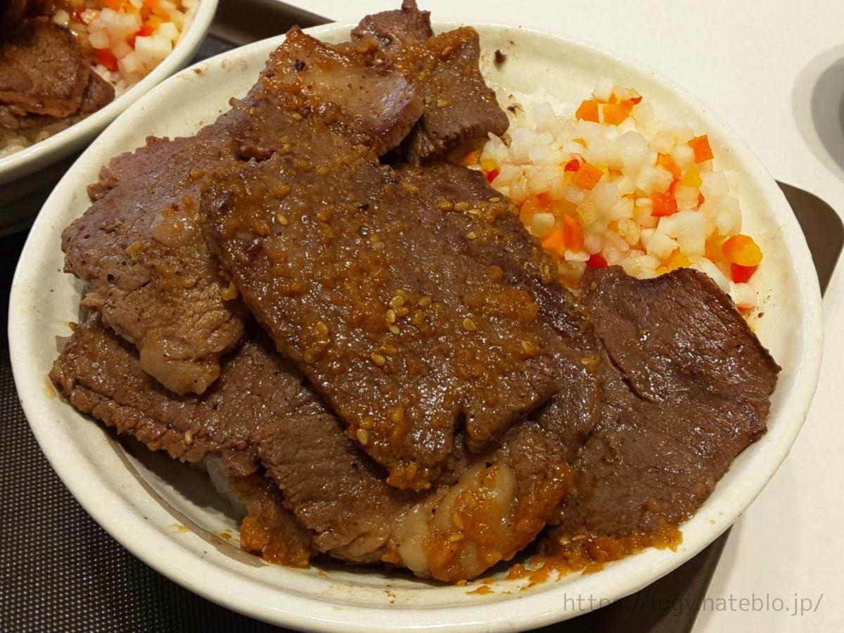 松屋 選べる極旨ソースの「牛ステーキ丼 デカ盛り」 感想 LIFE