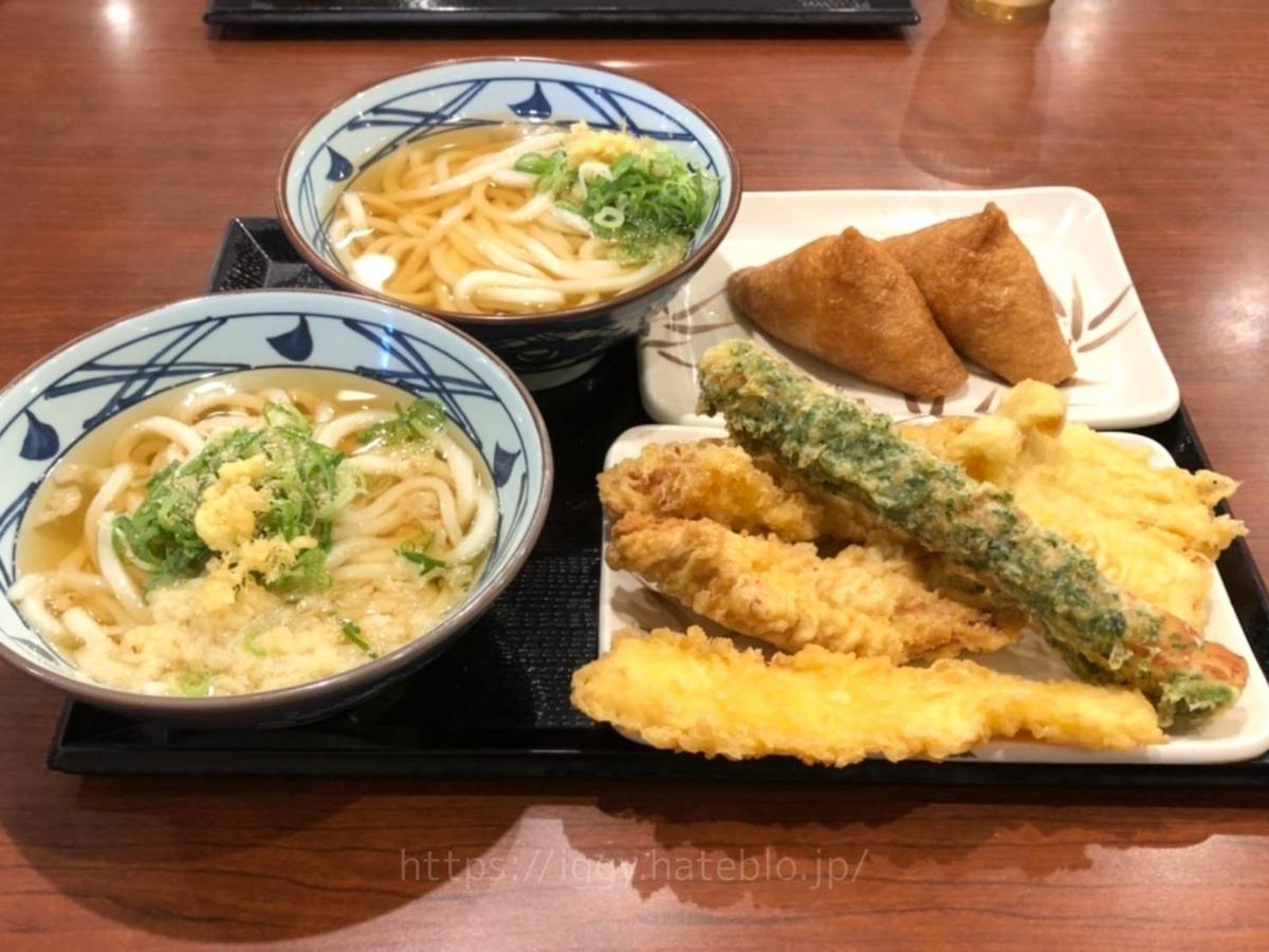 丸亀製麺 創業感謝セット 2人前セット内容 LIFE