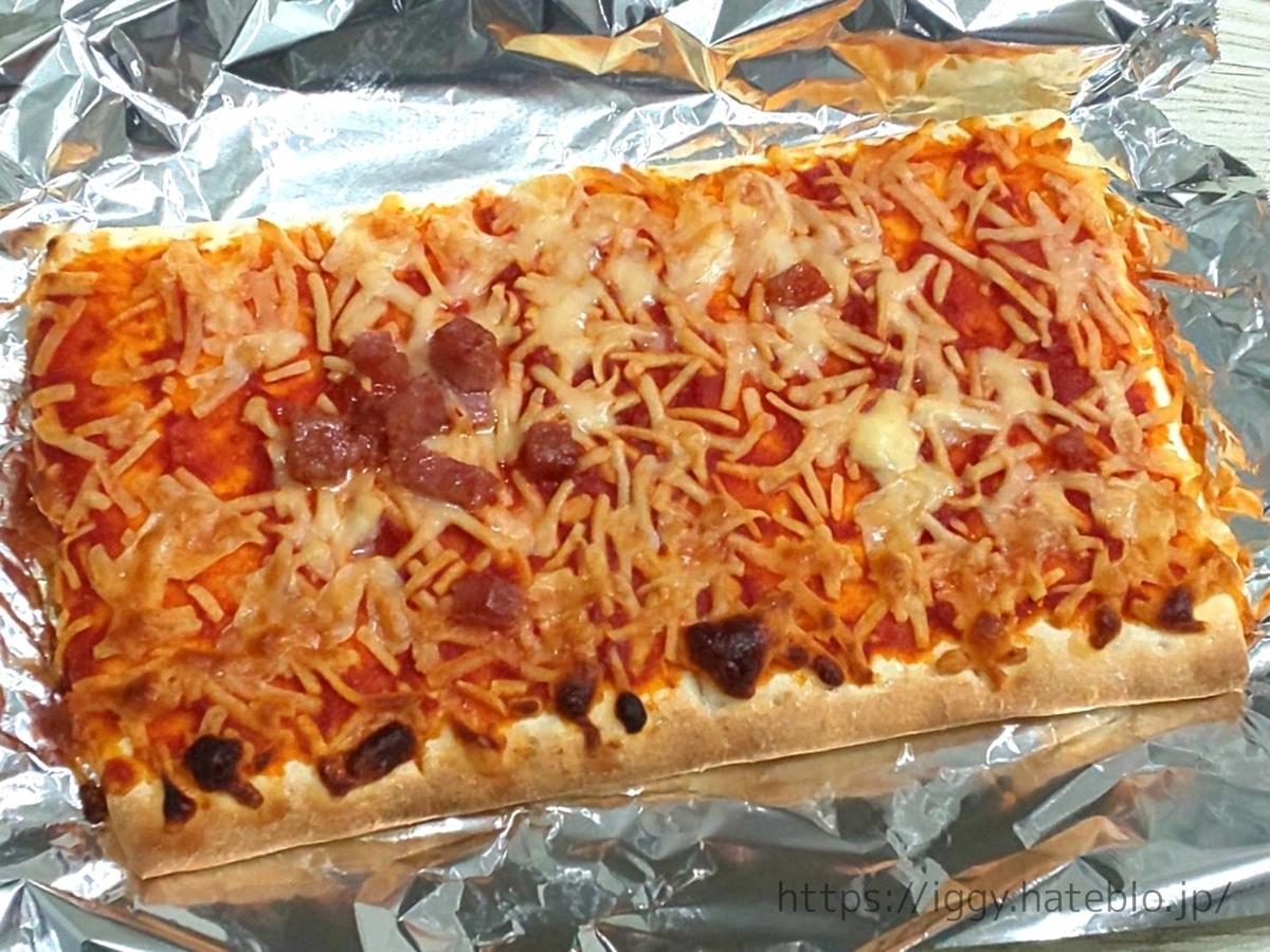 シャトレーゼ おすすめ冷凍ピザ「オーブンでそのまま焼けるピザ サラミ」口コミ レビュー LIFE