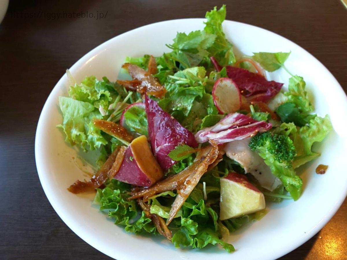 ワンカルビ 2020年10月ランチ「38品食べ放題」メニュー「豚肉と牛蒡のサラダ」 LIFE