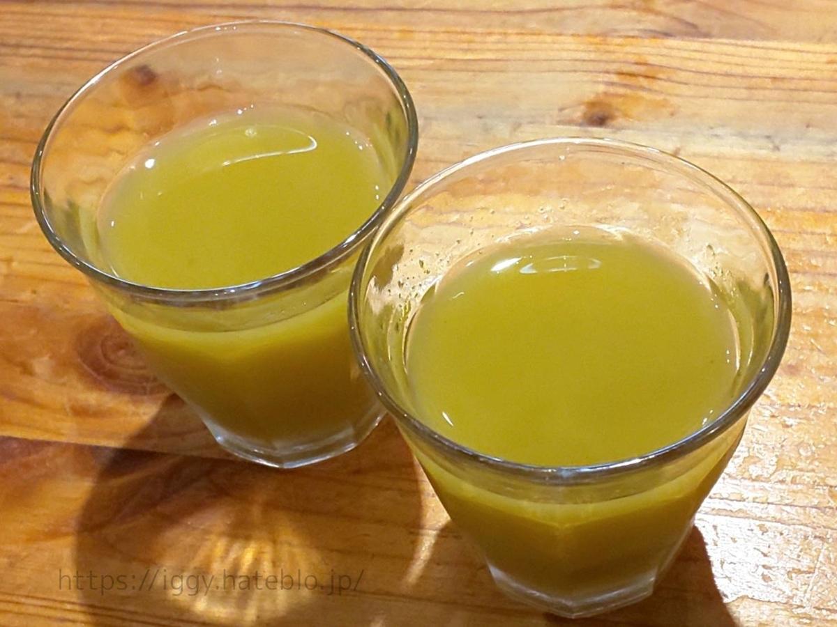 山本のハンバーグ  毎月替わりの手作り「野菜ジュース」感想 レビュー