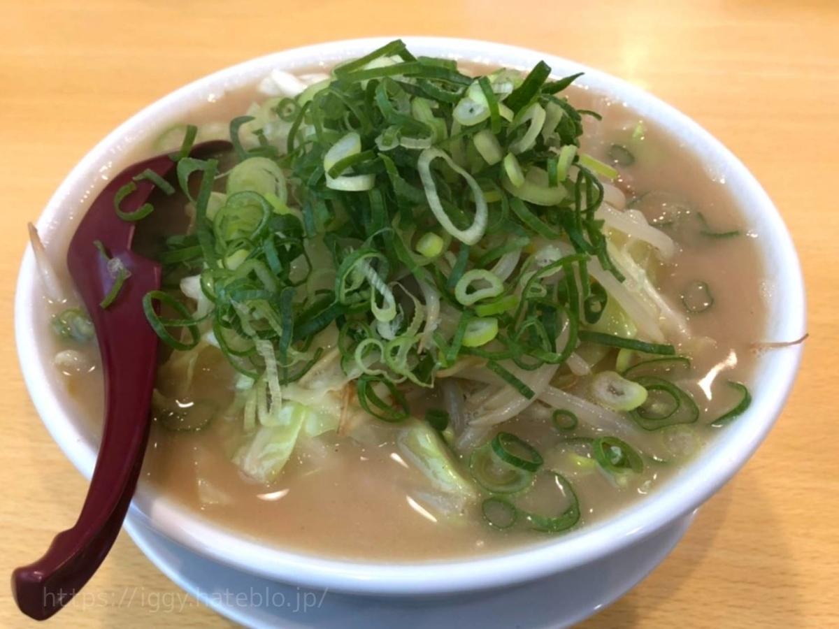 イナズマラーメン 野菜炒め盛りラーメン 感想 レビュー