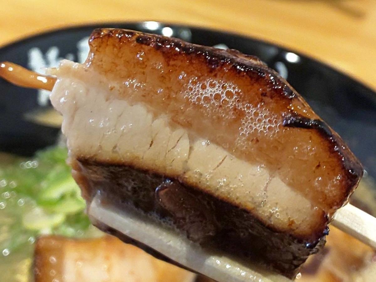 麺屋たいそん 特製濃厚豚骨ラーメン トントロ 感想 口コミ