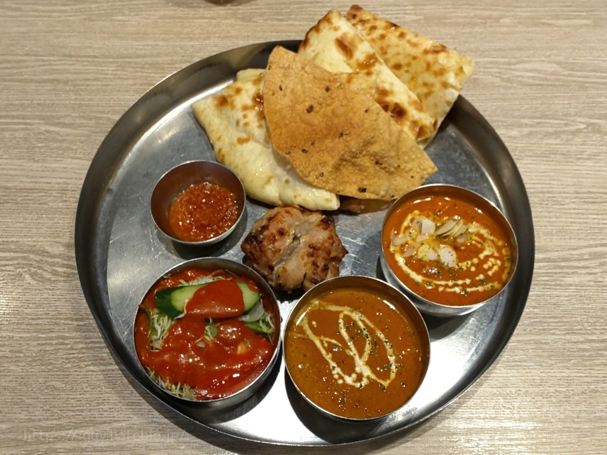 インド料理 フォーシーズン ミラン チーズナンランチセット 感想 口コミ