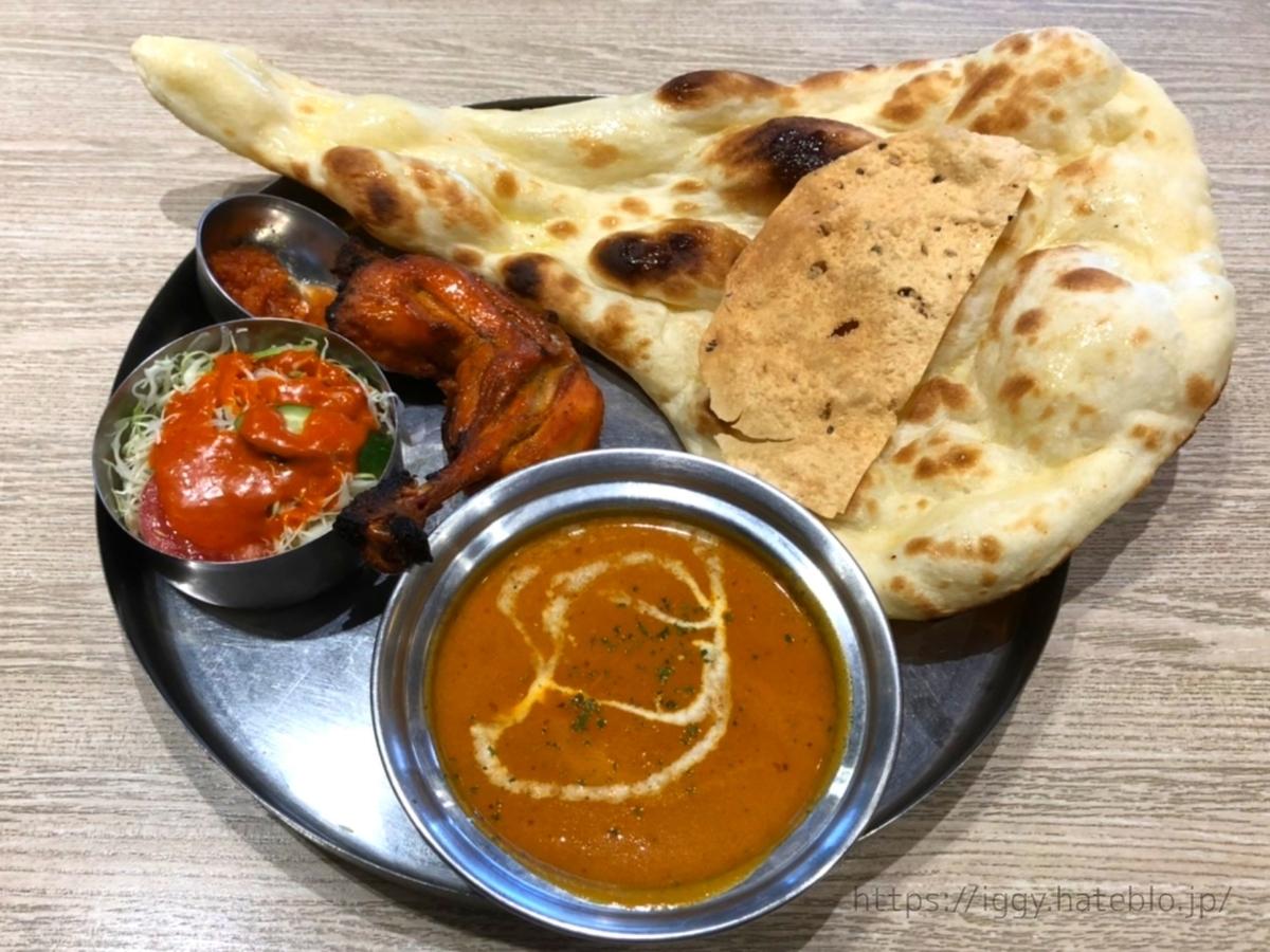 インド料理 フォーシーズン ミラン 土日スペシャルセット 感想 口コミ