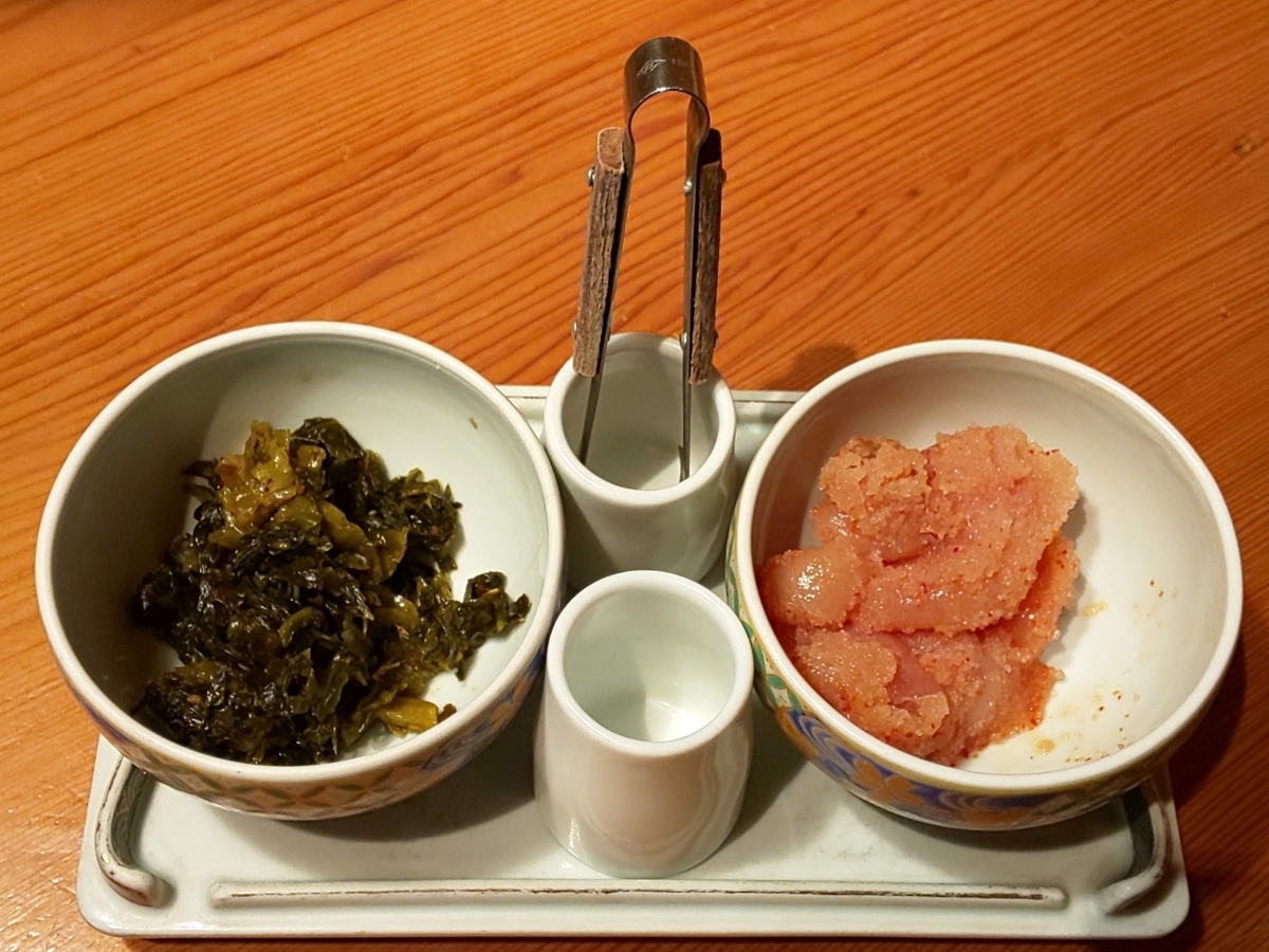 博多もつ鍋やまや おすすめランチ 辛子明太子・からし高菜・ご飯食べ放題 感想 口コミ