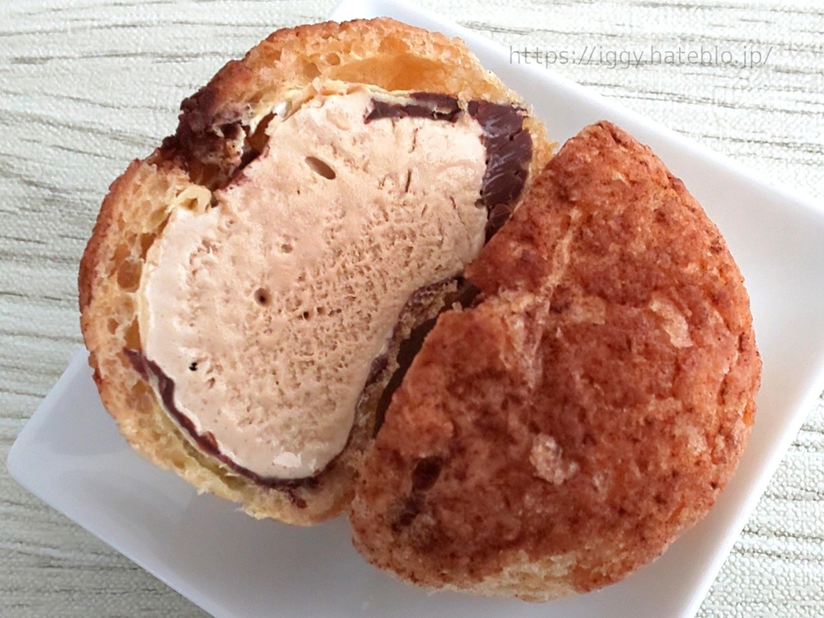 シャトレーゼ おすすめ デザートクッキーシューアイス ローストバターキャラメル 感想 口コミ