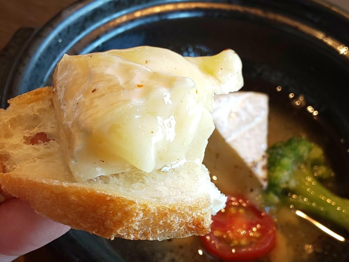 ワンカルビ 新メニュー「大人の贅沢フェア」 カマンベールチーズのアヒージョ 感想 口コミ