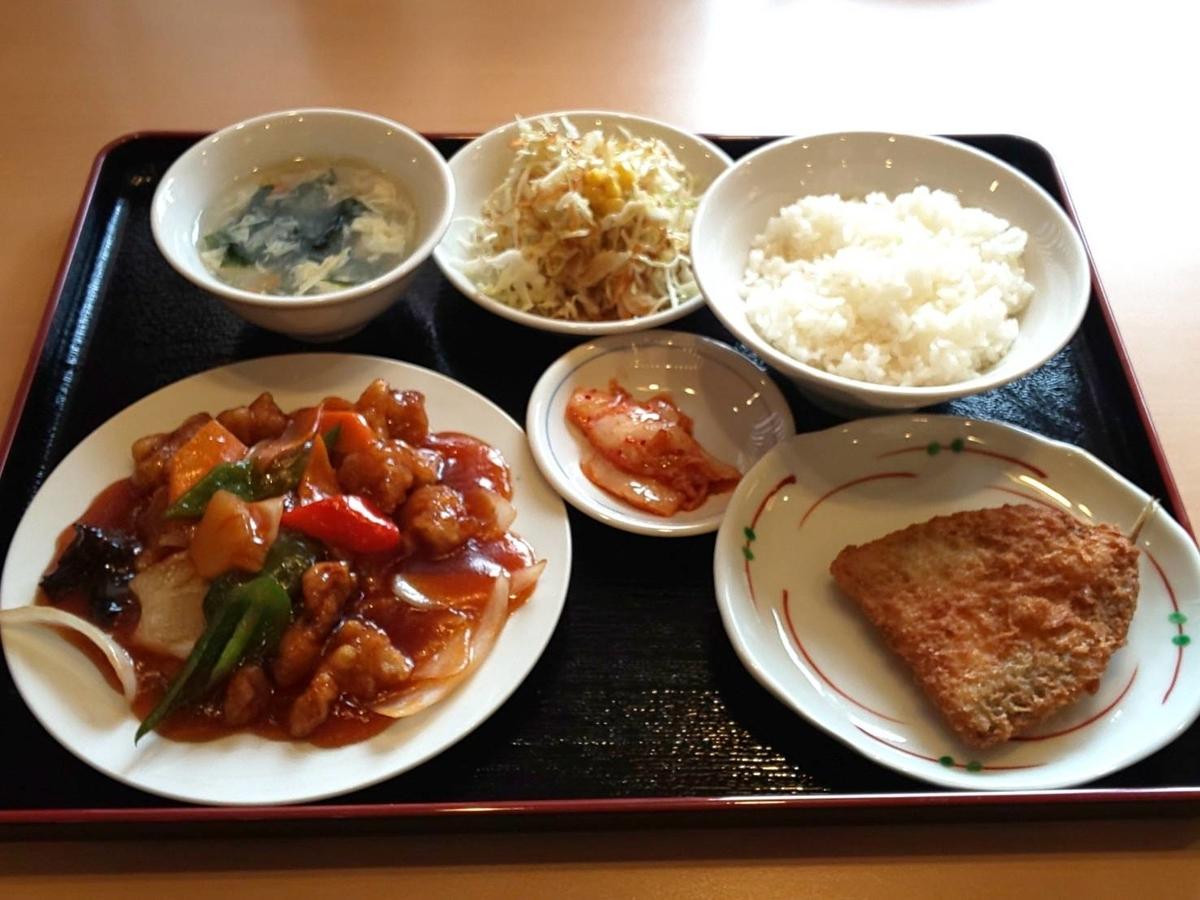 中華料理『都府(とふ)』 酢豚・Aランチ 口コミ レビュー