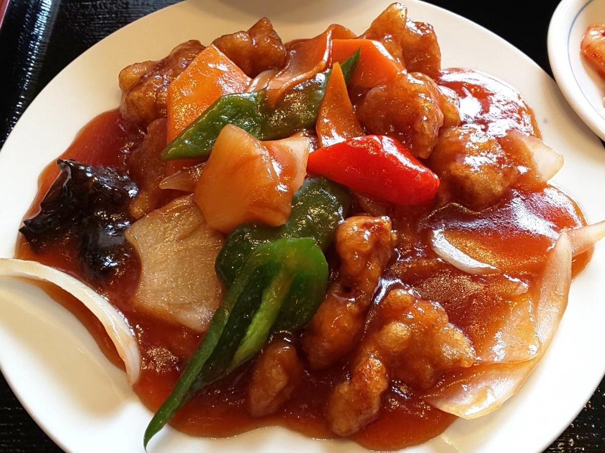 中華料理『都府(とふ)』 酢豚・Aランチ 感想 口コミ レビュー