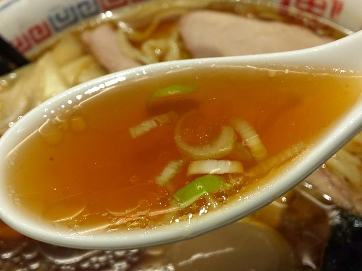 とら食堂 福岡分店 特製中華そば スープ 感想 口コミ レビュー