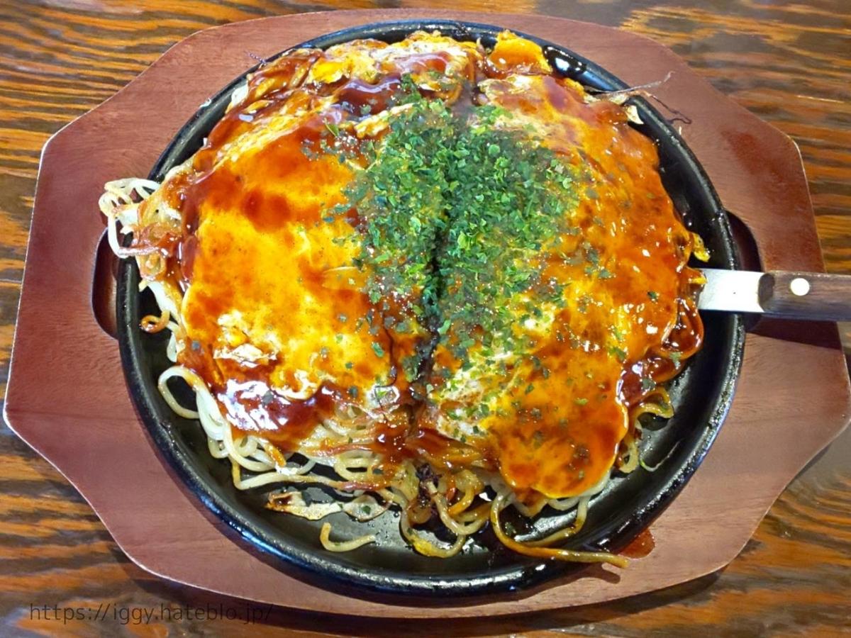 TABO(たーぼー)広島風お好み焼き「肉玉」メニュー 値段 感想 口コミ レビュー