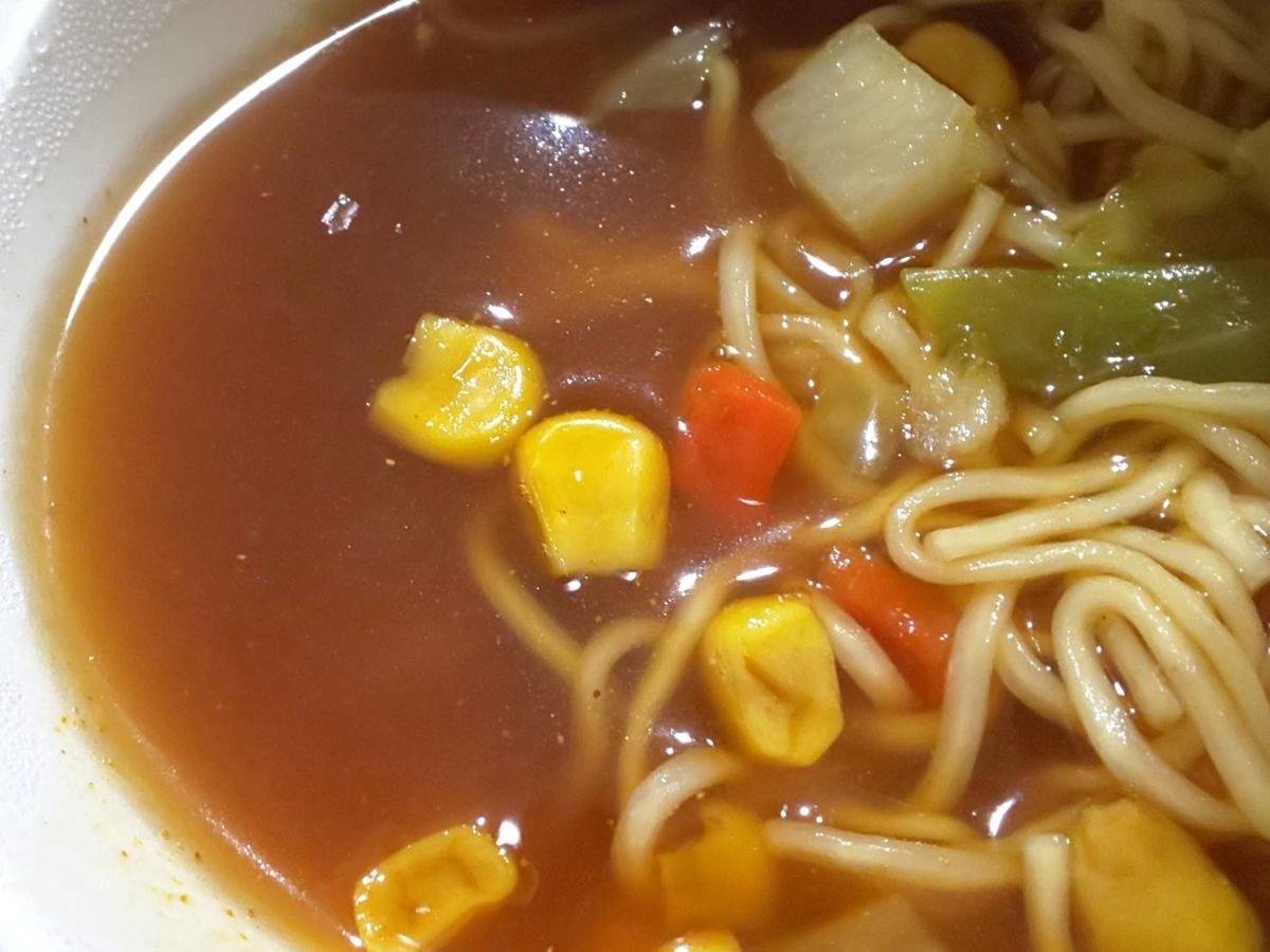 イケア プラントベースカップラーメンカレー味 スープ辛い 感想 口コミ レビュー