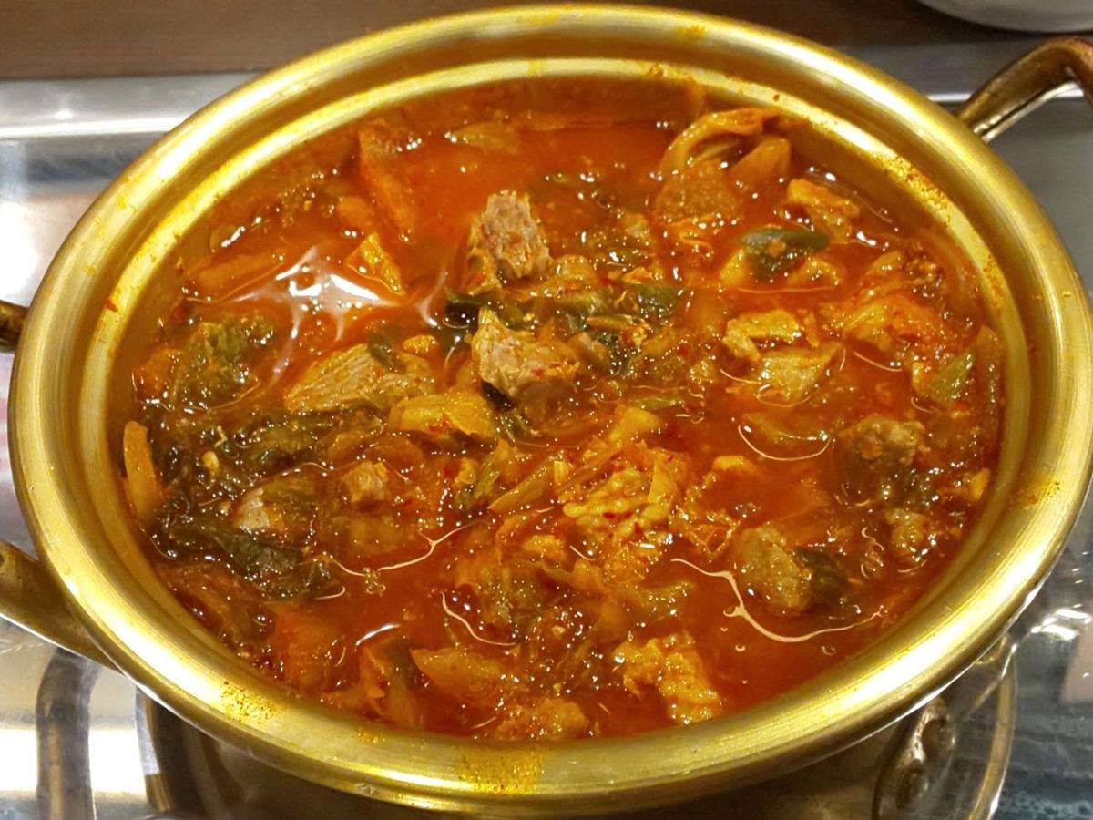 セマウル食堂 天神大名店 ランチ 7分間豚キムチチゲ おすすめメニュー 口コミ レビュー