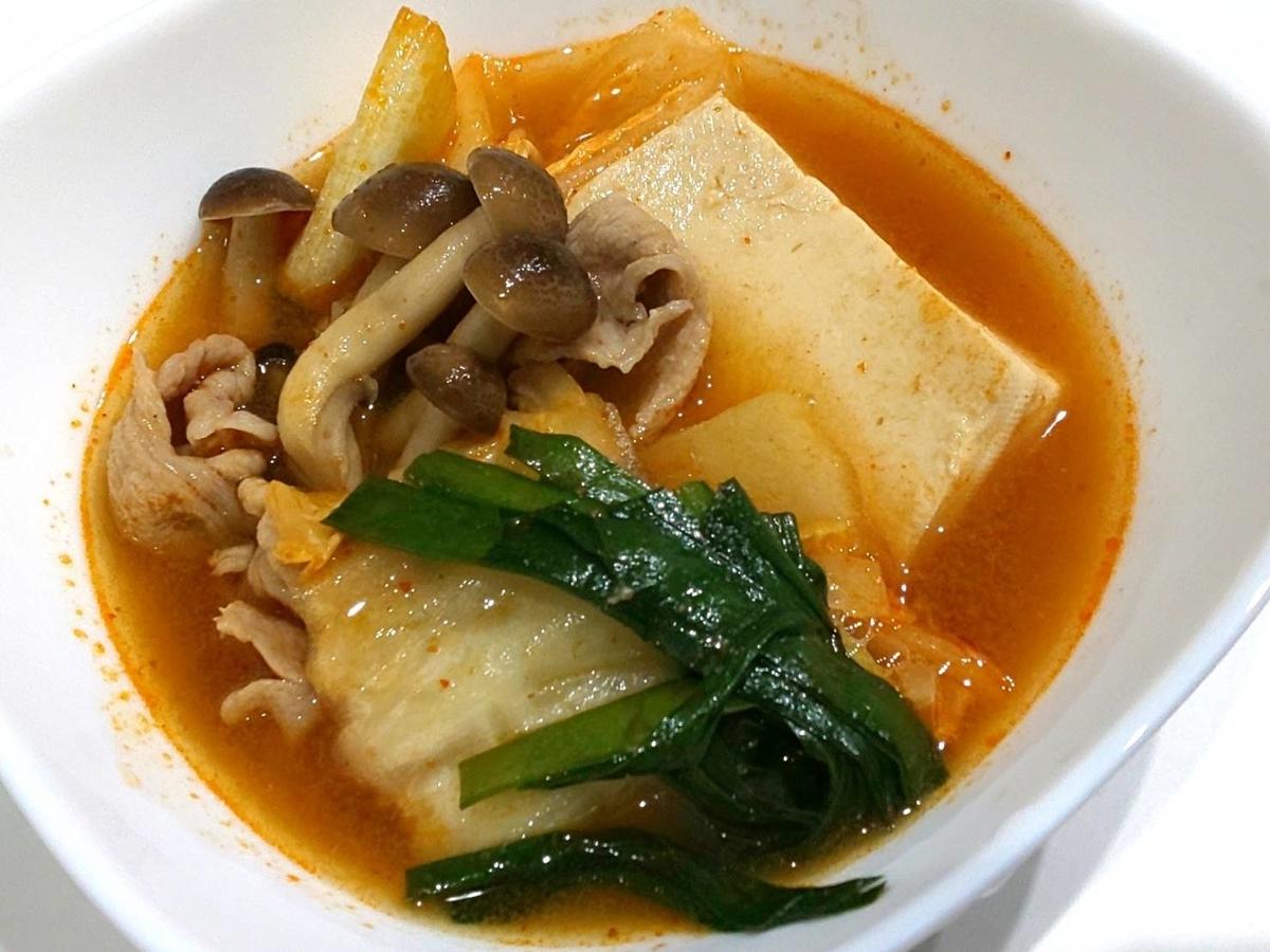 おすすめ鍋つゆ ミツカン「シメまで美味しい キムチ鍋つゆ」具材 作り方 口コミ レビュー