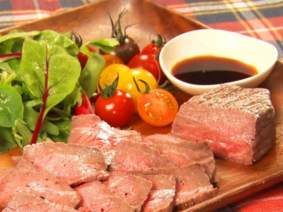 家事ヤロウ 簡単おうちレシピ 人気 ランキング 作り方 レンジで牛肉のたたき