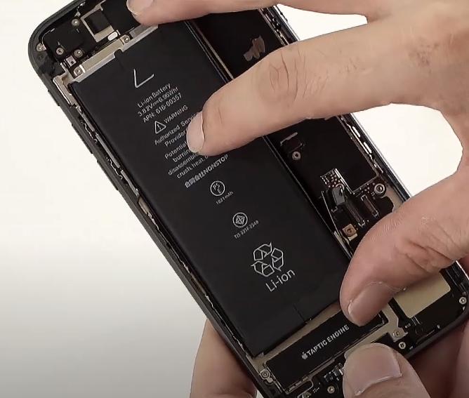 アイフォン バッテリー交換 簡単 手順 iPhone8