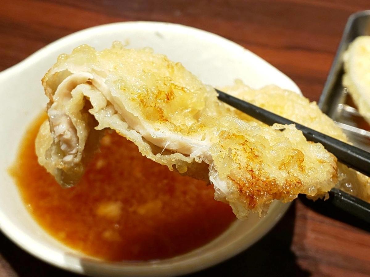 博多天ぷらたかお ランチ たかお定食 豚肉 感想 口コミ レビュー