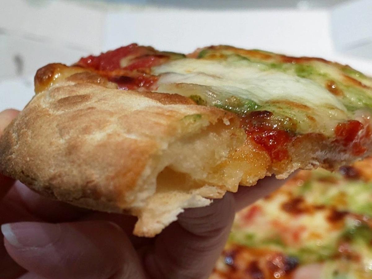 ガスト「マルゲリータピザ」テイクアウト 生地 感想 口コミ レビュー