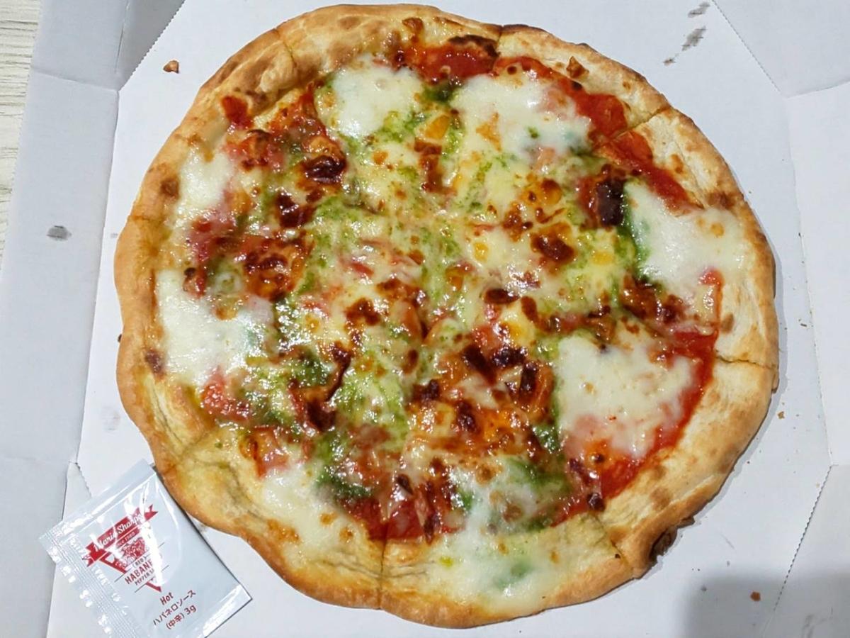 ガスト「マルゲリータピザ」テイクアウト 大きさ 美味しい? 感想 口コミ レビュー