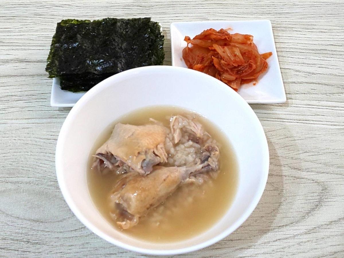 カルディ マッスンブ サムゲタン 鶏丸ごと 食べ方 感想 口コミ レビュー