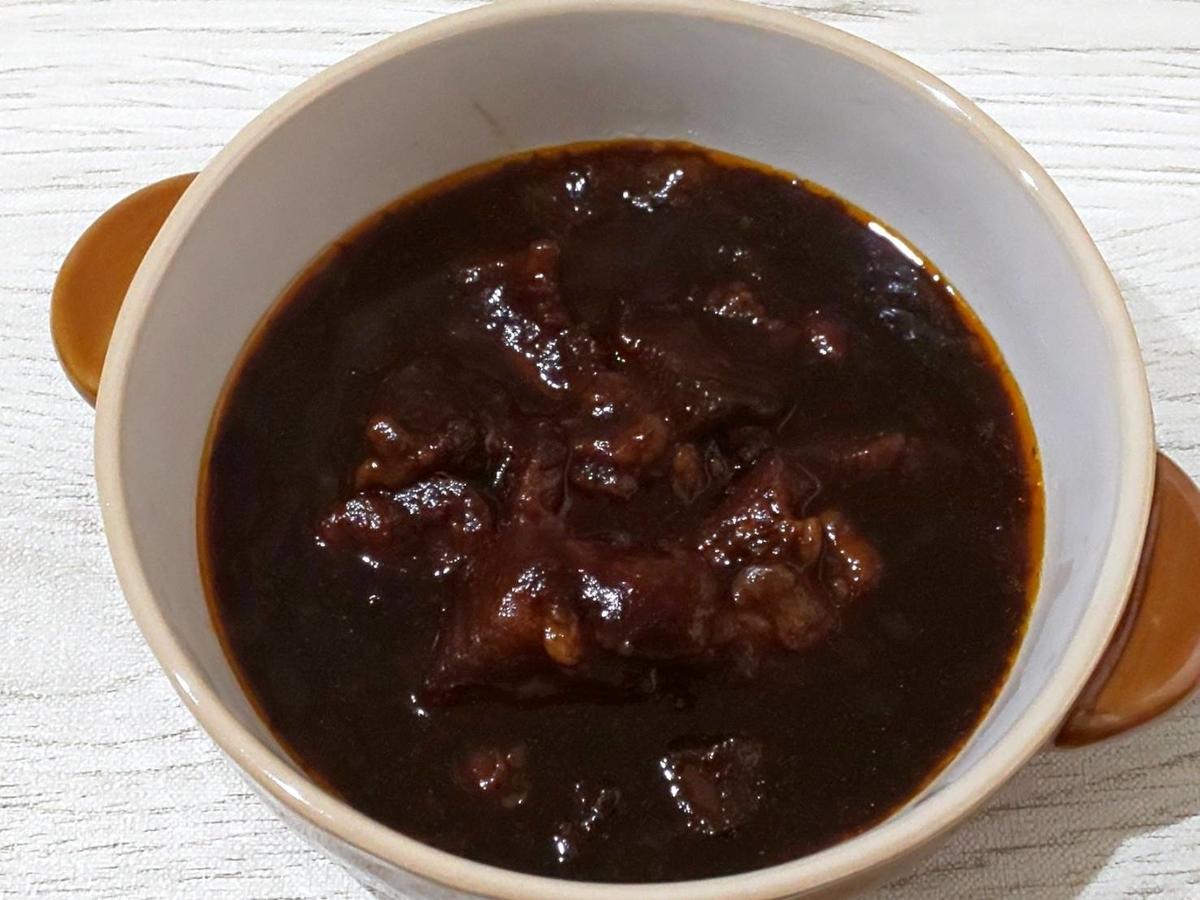無印 世界の煮込み「牛肉の赤ワイン煮」感想 口コミ レビュー