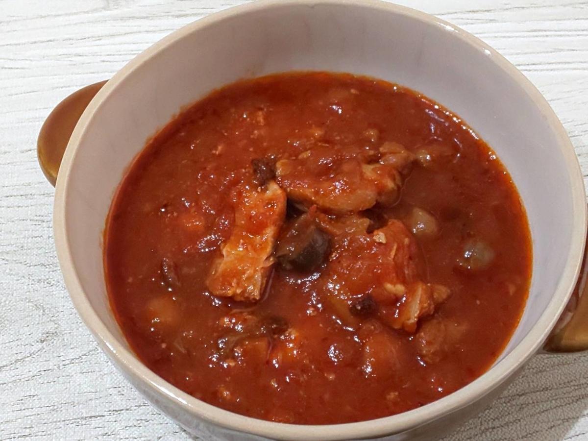 無印 世界の煮込み「チキンのトマト煮」感想 口コミ レビュー