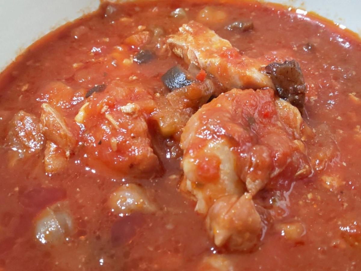 無印 世界の煮込み「チキンのトマト煮」具 感想 口コミ レビュー