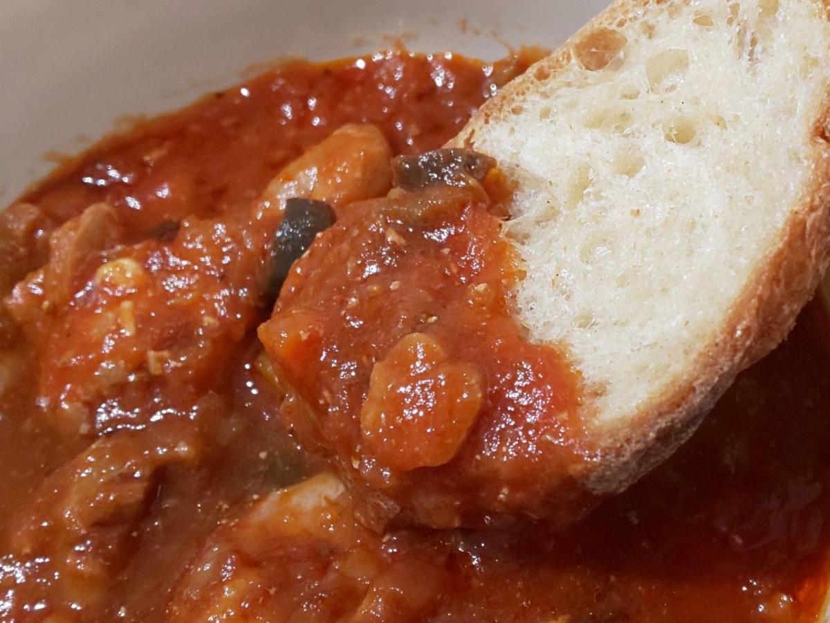 無印 世界の煮込み「チキンのトマト煮」食べ方 感想 口コミ レビュー