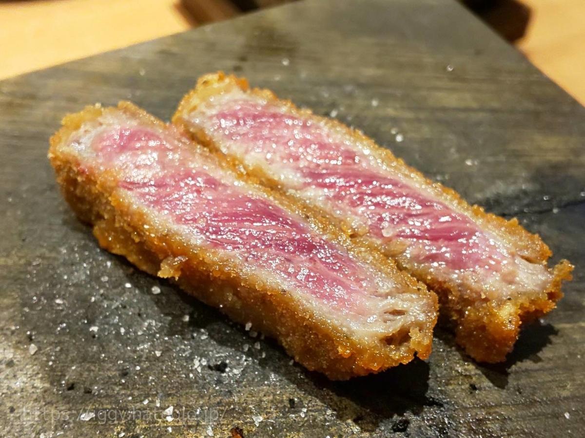 牛かつもと村 牛かつ食べ方 岩塩 おすすめ 感想 口コミ レビュー