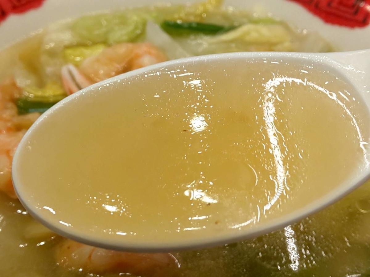 バーミヤン 海鮮3種の塩あんかけラーメン 美味しい?感想 口コミ レビュー