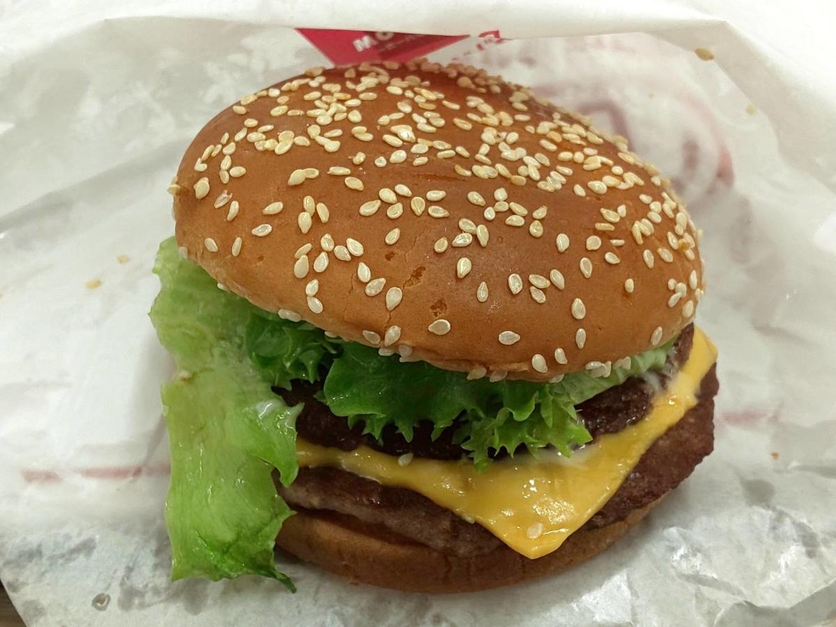 ドムドムハンバーガー ビッグドムチーズ 値段 感想 口コミ レビュー
